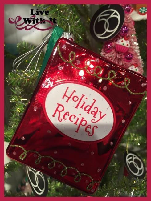 $11.00 Holiday Recipes Ornament