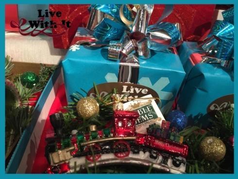 "$15.00 ""Merry Christmas"" Train Ornament"