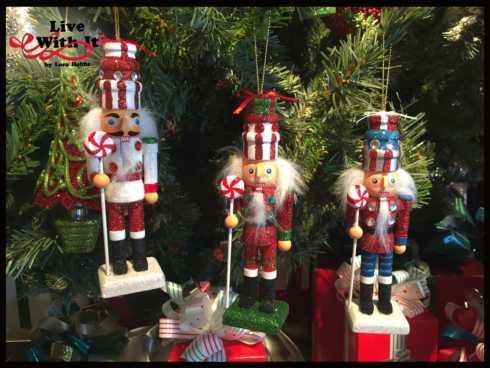 $34.00 Nutcracker Ornaments, Assorted Set of 3
