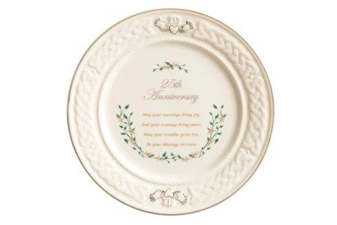 $75.00 25th Anniversary Plate