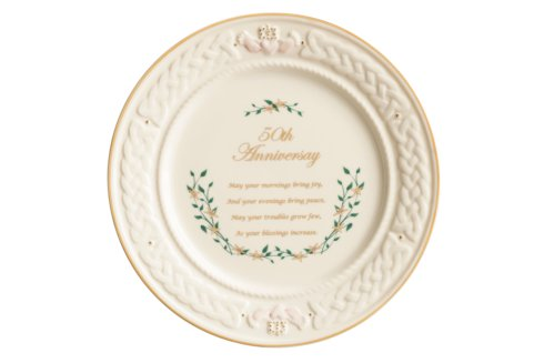 $75.00 50th Anniversary Plate