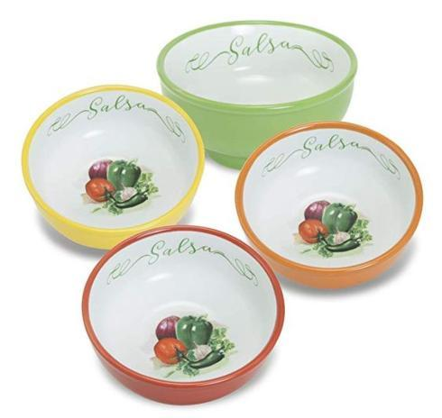 $25.00 Salsa Bowl, Assorted Set of 4