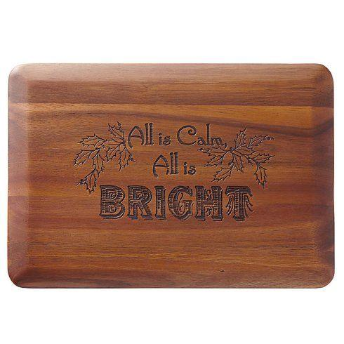 """$25.00 """"All is Calm, All is Bright"""" Wood Borad"""