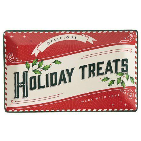$30.00 Holiday Treats Rectangular Tray