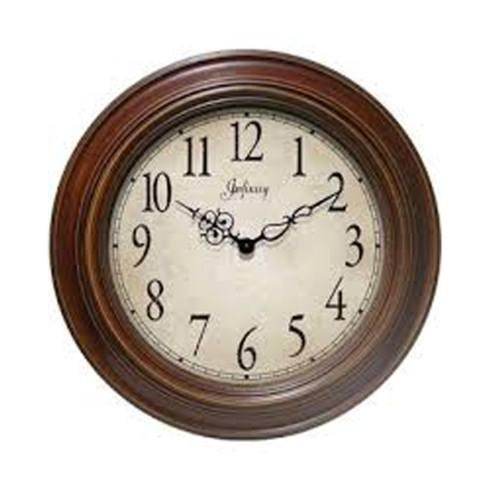 $80.00 Anthenum Walnut Wall Clock