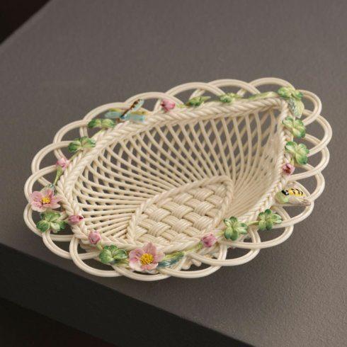 $160.00 Wild Rose Leaf Basket