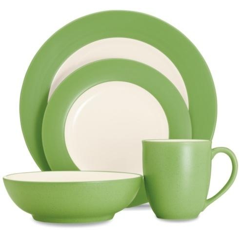 Sale $40.00 Rim 4 Piece Place Setting  sc 1 st  Live With It by Lora Hobbs & Noritake Colorwave Apple Dinnerware products
