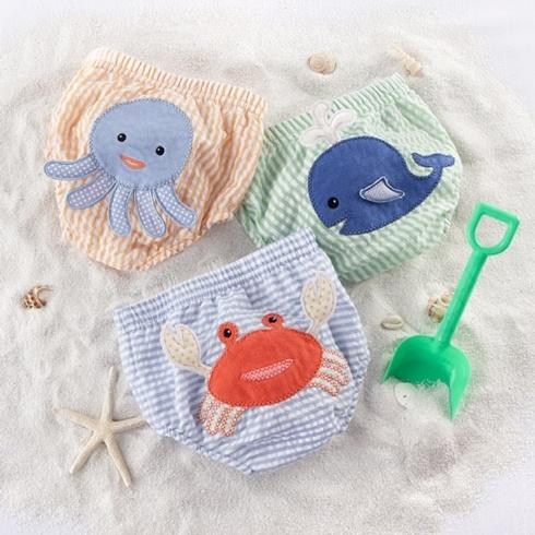 $31.00 Beach Bum Diaper Covers (Boy) 3-Piece Set 0-6 months