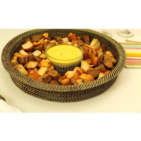 $78.00 2 Piece Round Chip and Dip