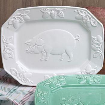 $40.00 Pig Relief Platter by Casafina