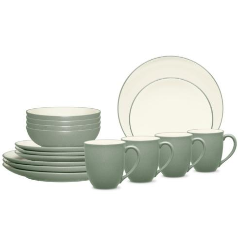 Sale $160.00 Coupe 16 Piece Dinnerware Set Service for 4  sc 1 st  Live With It by Lora Hobbs & Noritake Colorwave Green Dinnerware products