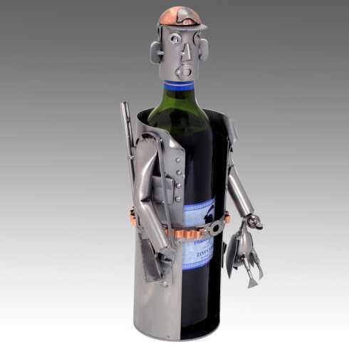 $88.00 The Hunter Wine Bottle Holder