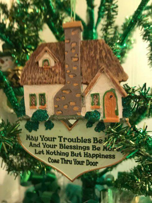 $9.00 Irish Home Blessing Ornament