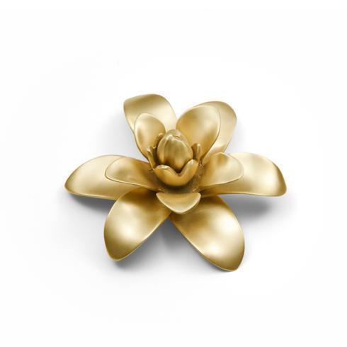 """$35.00 Flower Brass Plate 5"""" D"""