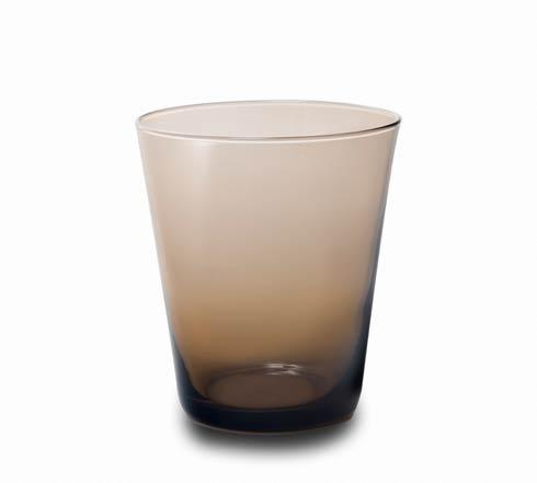$30.00 Glass Tumbler Chocolate-2/pc Set