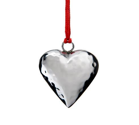 $25.00 Heart Ornament w/Red Pouch