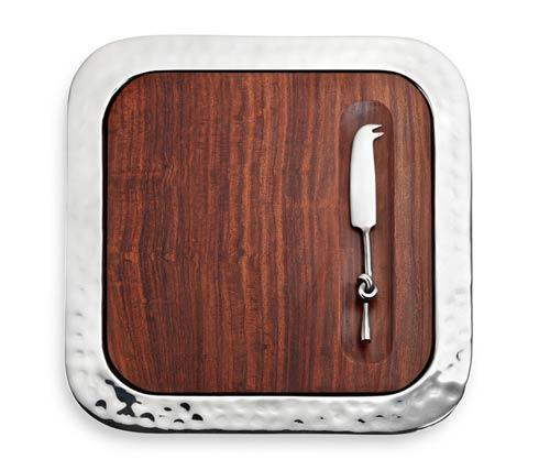 $235.00 Square Tray w/Indian Rosewood