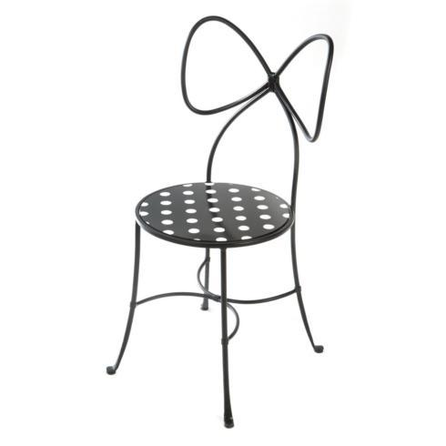 $395.00 Bow Chair - Black