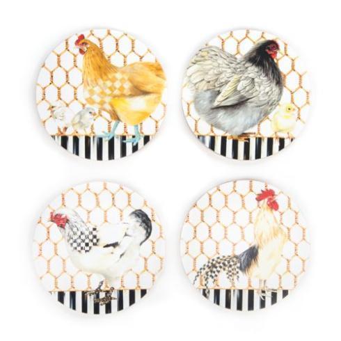 $28.00 Chicken Coop Coasters - Set of 4