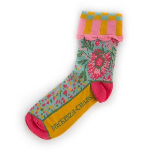 $28.00 Alice\'s Garden Ankle Socks
