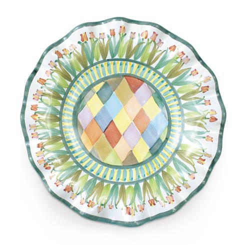 $78.00 Taylor Fluted Rim Luncheon Plate - Poplar Ridge