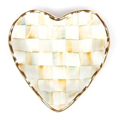 $110.00 Fluted Heart Plate
