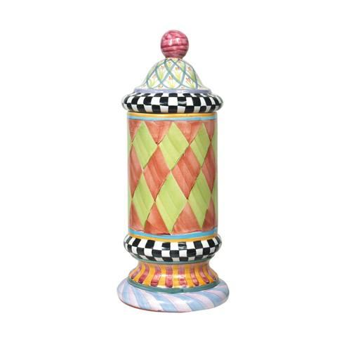 $198.00 Taylor Column Canister - Odd Fellows