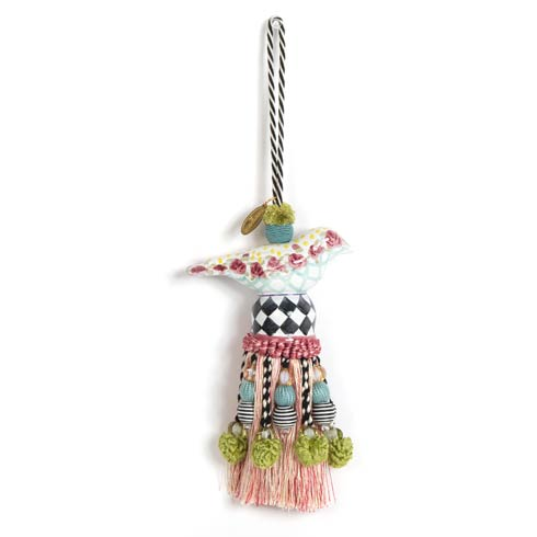 $78.00 Ceramic Bird Tassel - Rose