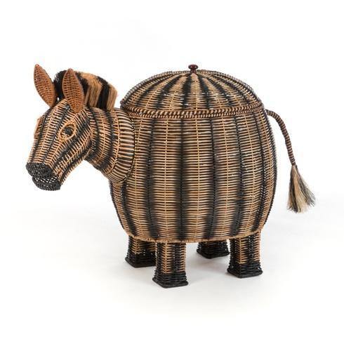 $495.00 Zebra Hamper