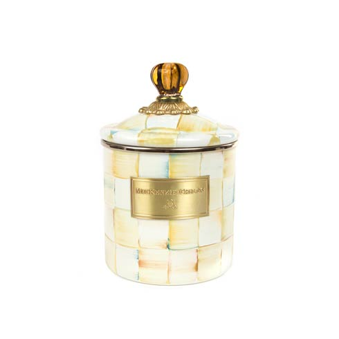 $80.00 Enamel Canister - Small