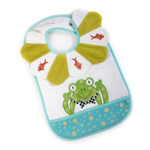 $28.00 Toddler\'s Bib - Bow Tie Frog