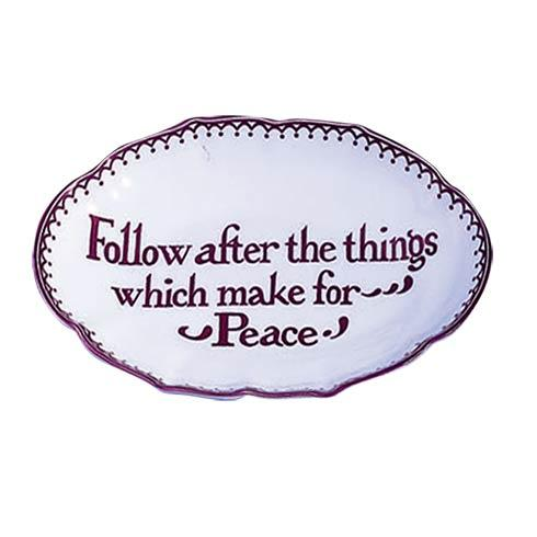 $38.00 Follow After The Things Which Make For Peace