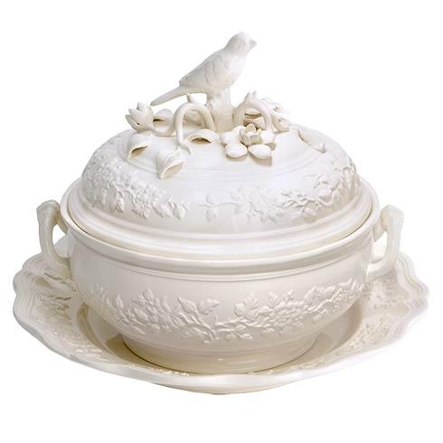 $725.00 Bird Tureen And Stand, Large