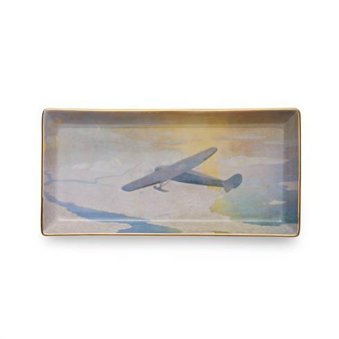 $80.00 Valiant Byrd Plane Pencil Tray