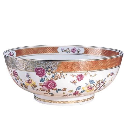 $815.00 Famille Rose Punch Bowl