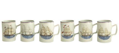 $295.00 Mugs  Set Of 6
