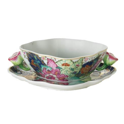 $425.00 Cream Soup And Saucer