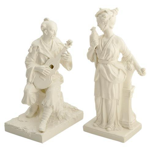 $855.00 Man & Woman Figurines, Pair
