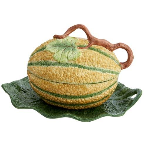 $475.00 Melon Tureen And Stand. Large