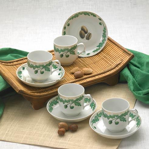 $400.00 Tea Cup & Saucer Set Of Four