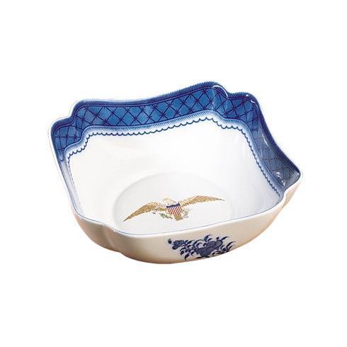 $100.00 Eagle Square Bowl, Small