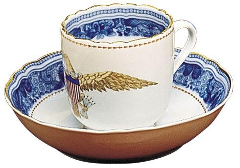 $125.00 Eagle Cup & Saucer