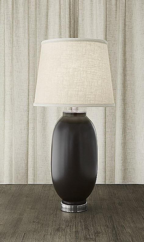 $1,075.00 Vase Lamp Red & Black