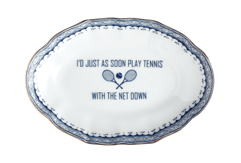 $40.00 I\'D JUST AS SOON PLAY TENNIS