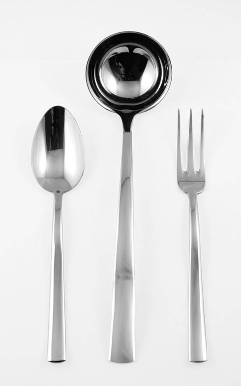 $174.00 3 Pcs Serving Set (Fork Spoon And Ladle)