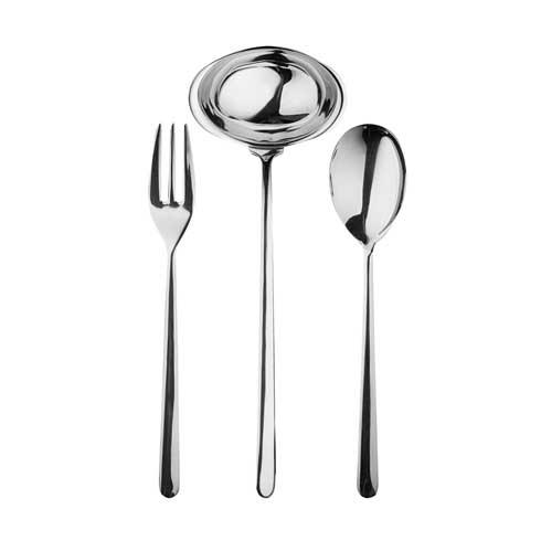 $162.00 3 Pcs Serving Set (Fork Spoon And Ladle)