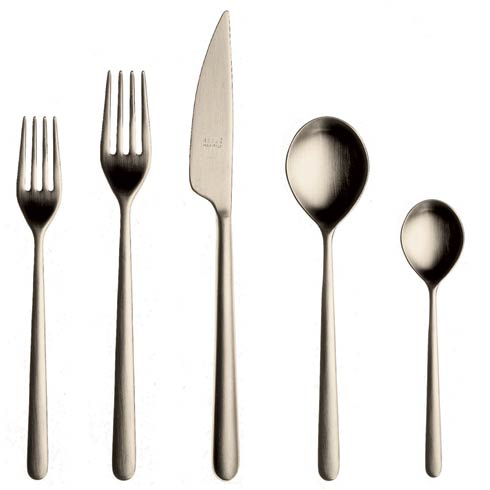 $199.65 Cutlery Set 5 Pcs Champagne