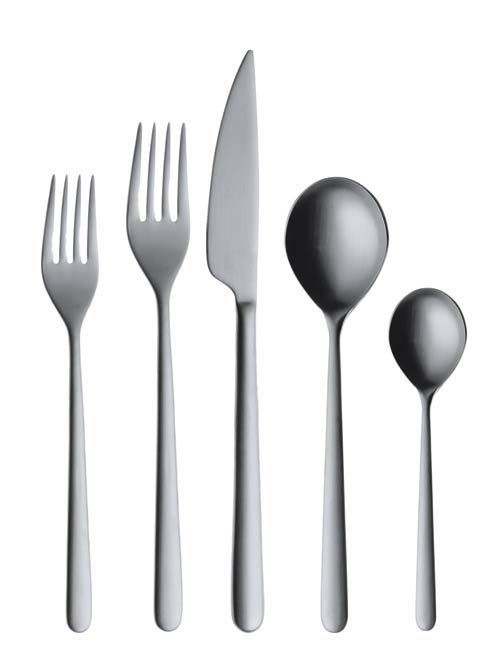 $199.65 Cutlery Set 5 Pcs Nero