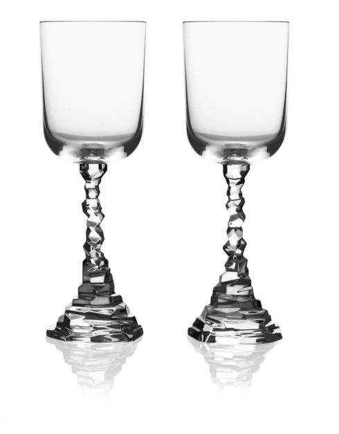 $75.00 Rock Wine Glass