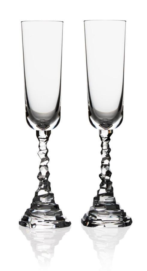 $75.00 Rock Champagne Flute